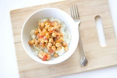red curry chicken with coconut cauliflower rice recipe