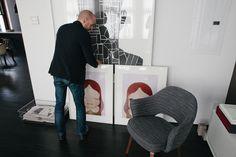 Dean DiSimone's renovated loft in SoHo, New York   Saarinen Executive Arm Chair   PC: Brian W. Ferry   Knoll Inspiration
