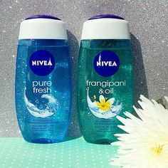 All you want is summer? Close your eyes and take a shower with one of our summery smelling #NIVEA shower gels and dream yourself away… #cosmetics #skincare #skin #pflege #pretty #beauty #nice