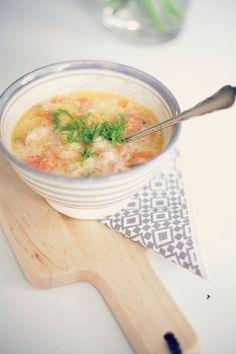 Easy 'Lohikeitto' Recipe (Salmon Soup)