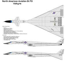 North American XB-70 Valkyrie specs.