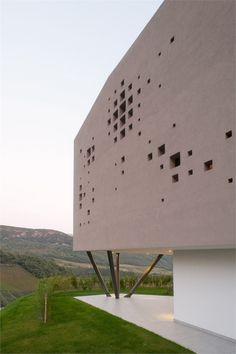 Giacomuzzi | near Caldaro Lake Italy | Monovulume architecture