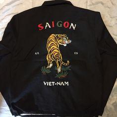 BAD QUENTIN VIETNAM SOUVENIR JACKET   OLD GARAGE / O.G. CLOTHING