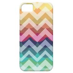 IPhone 5 Bright Chevron Scallop Summer Pattern iPhone 5 iPhone 5 Cover $44.95
