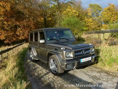#Test #Mercedes #G63 #AMG: Scharfe Kante