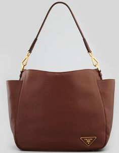 0f837ff3894b9 prada-daino-double-pocket-hobo. lalaskye · prada handbags collection