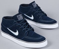 Nike Sb Zoom Stefan Janoski Mid. Wanted to get a pair of Dunk got myself two of those... Damned Swoosh addiction