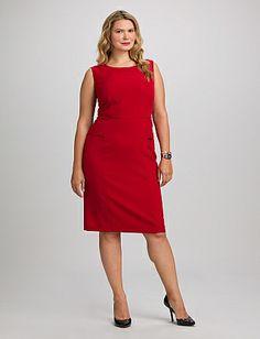 JONES STUDIO® Plus Size Peplum Dress