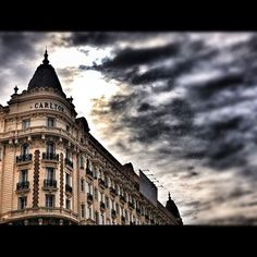The emblematic Cannes Carlton