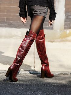 Free People Novak Over the Knee Boot at Free People Clothing Boutique