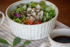 益子焼kinariシリーズサラダボウルのサラダボール(サラダボウル)!大鉢なのでサラダ鉢・煮物鉢として、麺鉢(めん鉢)・そうめん鉢としても活躍します。一つあると何かと便利な器です。贈り物にもぜひ!送料無料