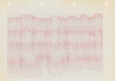 tina jonsbu: 7 x ruteark med farget blyant, 2009