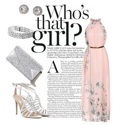 """Spring Time Wedding"" by cherrij on Polyvore featuring Gianvito Rossi, OroClone and BCBGMAXAZRIA"