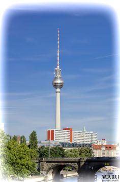 Blick vom Bode Museum zum Berliner Fernsehturm. (Photo: Copyright @ MaBu Photography)
