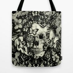 Victorian Gothic Tote Bag by Kristy Patterson Design - $22.00