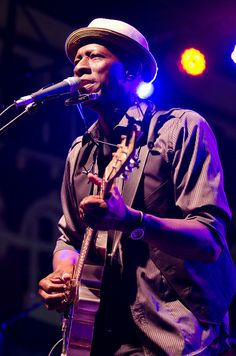 Keb Mo at Blues Fest by New Orleans Jazz & Heritage Foundation, via Flickr