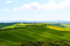 Tuscany's most scenic landscapes.