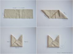 Triangle bag :: a tutorial