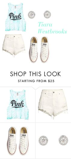 """""""SIDDUNG"""" by tiaramb11 ❤ liked on Polyvore featuring H&M, Converse, women's clothing, women, female, woman, misses and juniors"""