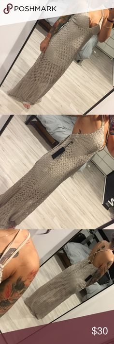 Selling this Forever 21 Lace Maxi Dress on Poshmark! My username is: anirocscloset. #shopmycloset #poshmark #fashion #shopping #style #forsale #Forever 21 #Dresses & Skirts