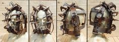 Saw inspired Head trap Prop by Twisted Endeavours