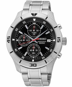 SEIKO Chronograph Stainless Steel Bracelet Μοντέλο: SKS401P1 Η τιμή μας: 148€ http://www.oroloi.gr/product_info.php?products_id=39355