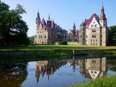 Moszna Castle, Poland by radimersky on flickr