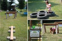 diy obstacle course for preschoolers - Google Search