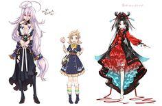 New toudans touken ranbu genderbend Character Sheet, Character Concept, Character Design, Manga Drawing, Touken Ranbu, Doujinshi, Haikyuu, Anime Art, Kawaii
