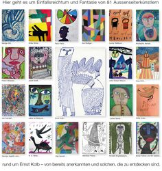 Welcome to a collection of outsider art Outsider Art, Web Gallery, Art Brut, Les Oeuvres, The Outsiders, Presents, Baseball Cards, Voici, Inspiration