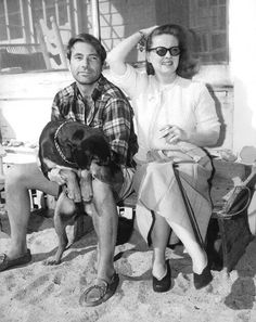 Bette, Gary, and dog