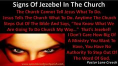 Signs of Jezebel in the church