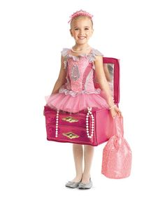 This Ballerina in a Jewelry Box Dress - Girls by chasing fireflies is perfect! #zulilyfinds