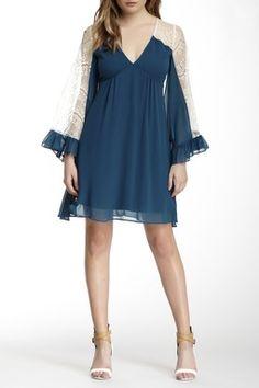 Viviana Bell Sleeve Dress
