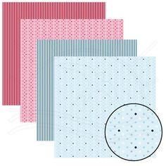 Folha para Scrapbook Dupla Face - Básico Multitons Flávia Terzi Folha impressa dos 2 lados com estampas e cores coordenadas ideais para servirem de base em trabalhos de Scrapbook ( Decoração de Álbuns) e artesanato em geral. Totalmente ACID e LIGNIN FREE. Contém: 1 folha estampada frente e verso Medidas: 305 x 315 mm Gramatura: 180 g/m² Fabricante: Toke e Crie