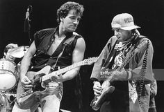 Bruce Springsteen and Nils Lofgren