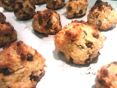 Coconut Chocolate Chip Cookies-WINNER! can serve guests! use small scooper makes 42 cookies