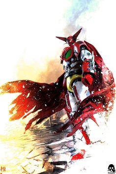 Geter robot Metal Robot, I Robot, Robot Art, Super Robot Taisen, Batman Redesign, Robot Cartoon, Japanese Robot, Japanese Superheroes, Vintage Robots
