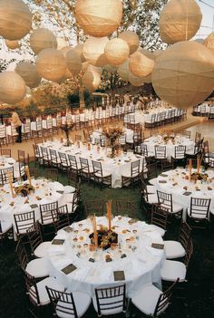 layout for a wedding reception
