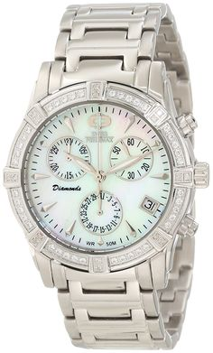 Swiss Precimax Women's SP12080 Desire Elite Diamond Mother-Of-Pearl Dial Watch -- Check this awesome product by going to the link at the image.