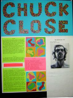 Artist research Poster project High School Art, Middle School Art, Roy Lichtenstein, Intro To Art, 8th Grade Art, Sixth Grade, Research Poster, Pop Art, Between Two Worlds