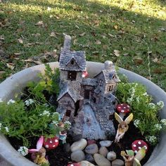 PInners note Hobby Lobby carries fairy garden accessories