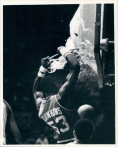 Darryl Dawkins Converts to Judaism Just to Break the Glass