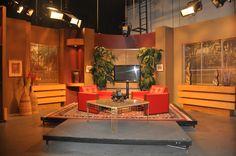 Inside Studio B on the Pulse set.