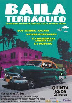 Baila Terráqueo em Recife.