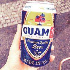 #oceanpeople で飲んだグアムのビールびっくりするほどタイプのビールだったぜい Amazonで買うっきゃないね