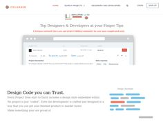 A freelance network that cares and project bidding for your most complicated work. Find rock star developers, designers and companies for your project