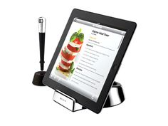 stand and wand for ipad when using as a cookbook! No fingerprints:) Brilliant!