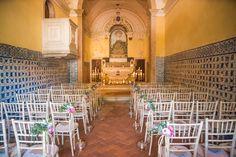 Our wedding chapel decoration - My Vintage Wedding - The Quinta #portugal #wedding #chapeldecor #Love #aisle #weddinginportugal #vintageweddinginportugal #vintagewedding #portugalwedding #weddingportugal #weddingsinportugal #myvintageweddinginportugal #rusticwedding #rusticweddinginportugal #thequinta #weddinginsintra