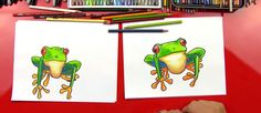 How To Draw A Tree Frog - Art for Kids Hub